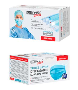 Three-layer Surgical Mask